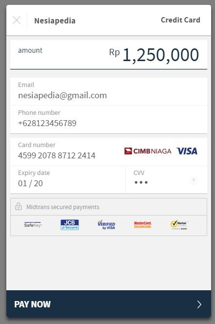 Integerasi Pembayaran Kartu Kredit Midtrans di Woocommerce